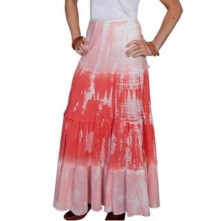 Scully Western Skirt Womens Tie-dye Full Length Elastic PSL-139