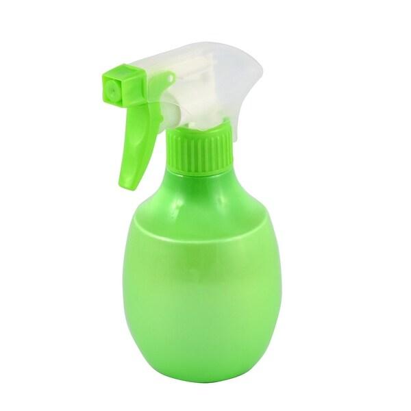 Plastic Hairdressing Garden Flower Plant Trigger Water Spray Bottle Green 150ml