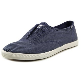 Keds Chillax Women Round Toe Canvas Blue Sneakers