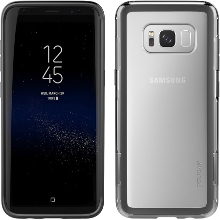 Pelican Products Adventurer Case Samsung Galaxy S8+ in Clear/Black