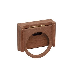 Whitecap Teak Folding Insulated Drink Holder - 62602