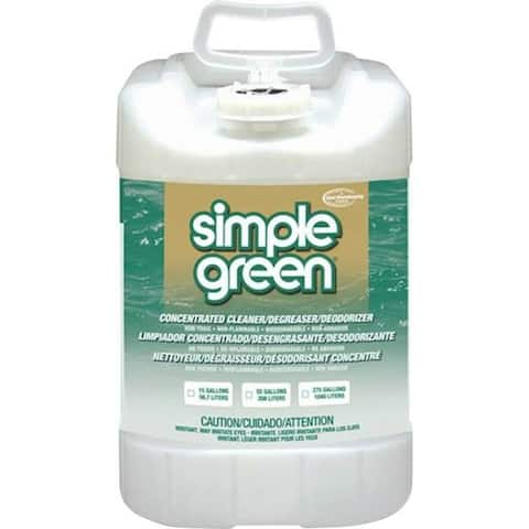 Simple Green 2700000113006 All-Purpose Cleaner/Degreaser, 5 Gallon