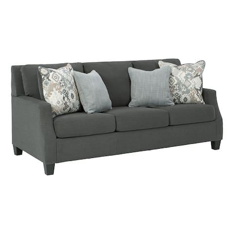 "Bayonne Charcoal Sofa - 83""W x 40""D x 39""H"