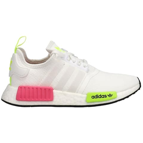 adidas Nmd_R1 Womens Sneakers Shoes Casual - Pink,White,Yellow