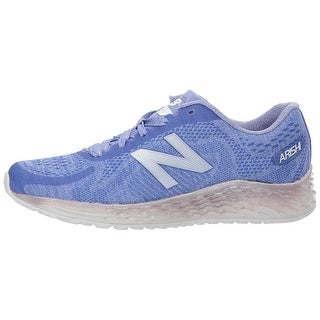 New Balance Girls Arishi Fabric Low Top Lace Up Running Sneaker - girls 7w big kid