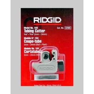 "Ridgid 32985 Midget Tubing Cutter No 104, 15/16"""