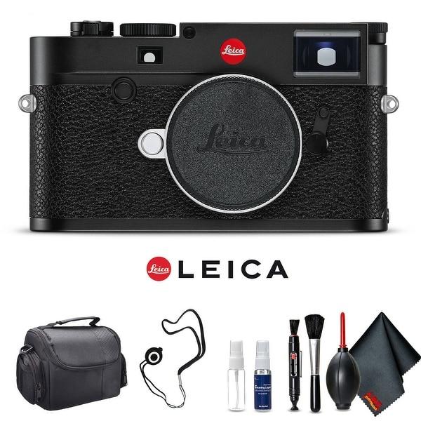 Leica M10 Digital Rangefinder Camera (Black) Kit