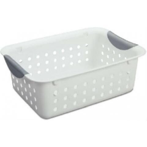 Sterilite 16228012 Small Ultra Basket, White