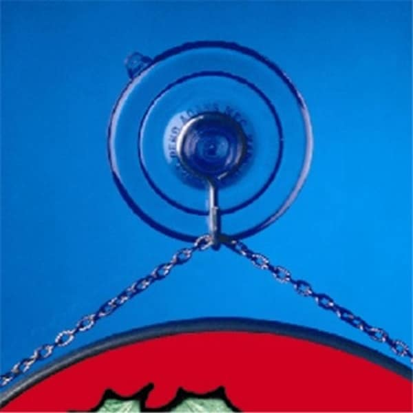 Pack of 2 Suction Cups for Hanging Christmas Decorations - Large