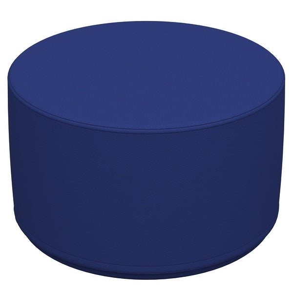 """SoftScape Round Ottoman 12"""" Height. Opens flyout."""