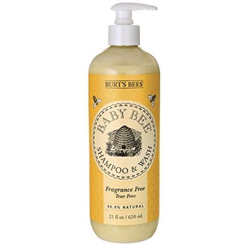 Burt's Bees Baby Bee Shampoo & Wash, Fragrance Free 21 oz (4 options available)