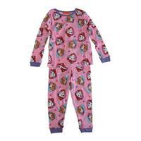 Nickelodeon Little Girls Pink Paw Patrol Long Sleeve 2 Pcs Pajama Set