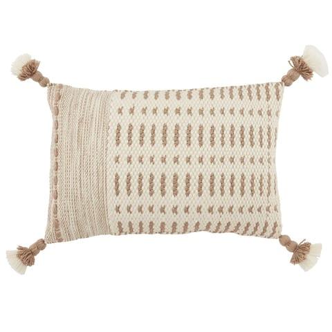 Brenatto Tribal Indoor/ Outdoor Lumbar Pillow