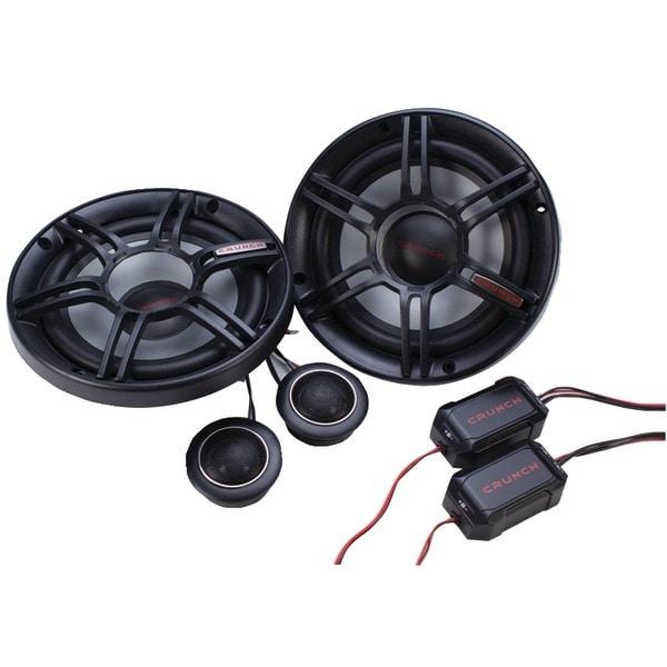 "Crunch Cs65C Cs Series 6.5"" 300-Watt 2-Way Component Speaker System"