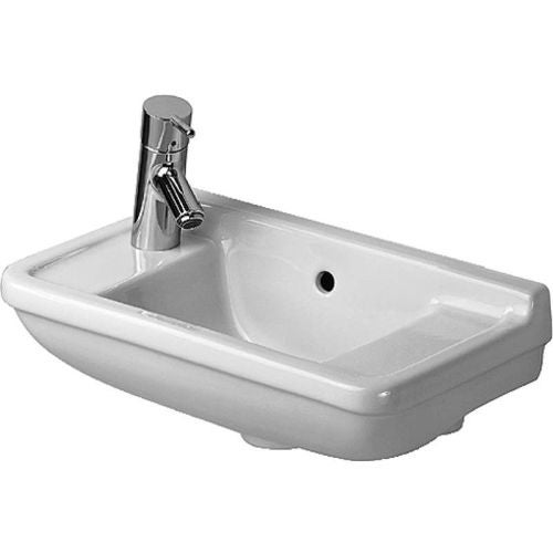 Duravit 751500009 starck 3 ceramic 19 34 wall mounted bathroom duravit 751500009 starck 3 ceramic 19 34 wall mounted bathroom sink with workwithnaturefo