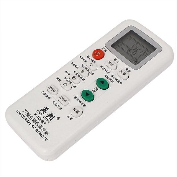 Unique Bargains White Plastic Air Conditioner Remote Control Controller K-100SP