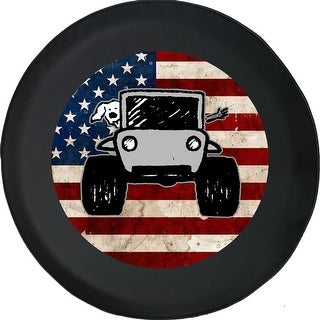 Link to Spare Tire Cover American Flag The Wave Paw Prints Similar Items in Billiards & Pool