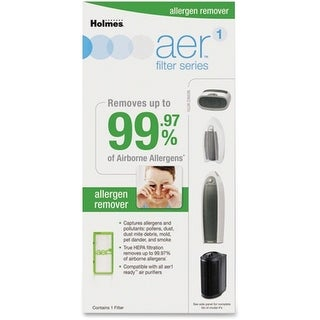 Holmes HAPF300AH-U4 Holmes aer1 Allergen Remover Replacement Filter - HEPA - For Air Purifier - Remove Dust, Remove Pollen,