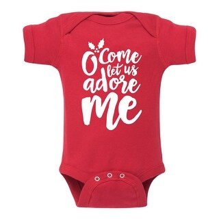 O Come Let Us Adore Me - Infant One Piece