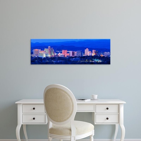 Easy Art Prints Panoramic Images's 'Reno NV' Premium Canvas Art