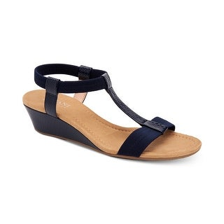 Alfani Womens Voyage Open Toe Casual Platform Sandals