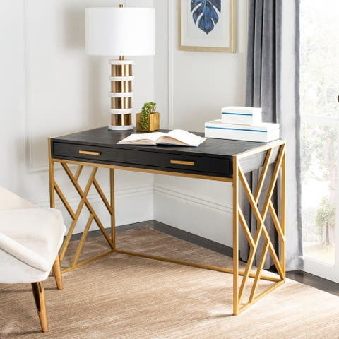 Safavieh Elaine Modern Dual-tone 1-drawer Desk