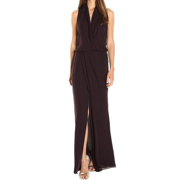 2f5491f4a5748 Shop Parker Women's Lagos Blouson Front Slit Maxi Dress - On Sale ...