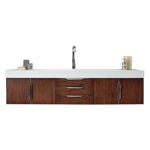 "Mercer Island 72"" Single Vanity, Coffee Oak"