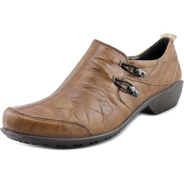Romika Citylight 45 Round Toe Leather Loafer