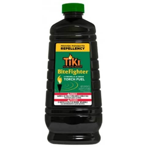 Tiki 1215090 Bitefighter Citronella and Cedar Torch Fuel, 64 Oz
