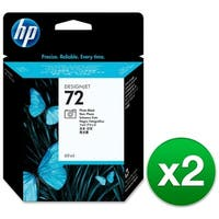 HP 72 69-ml Photo Black DesignJet Ink Cartridge (C9397A) (2-Pack)