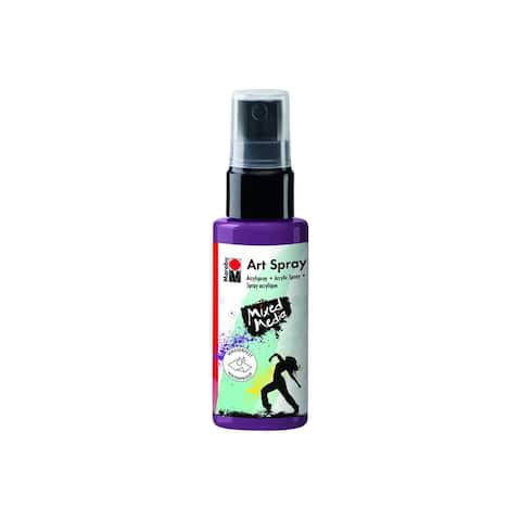 12099005039 marabu mixed media art spray 1 7oz aubergine