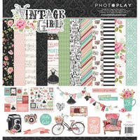 "Photoplay Collection Pack 12""X12""-Vintage Girl"