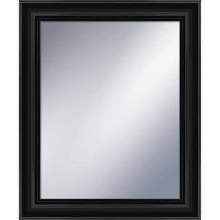 """PTM Images 5-1207 34.75"""" X 28.75"""" Rectangular Mirror With Black Frame - N/A"""