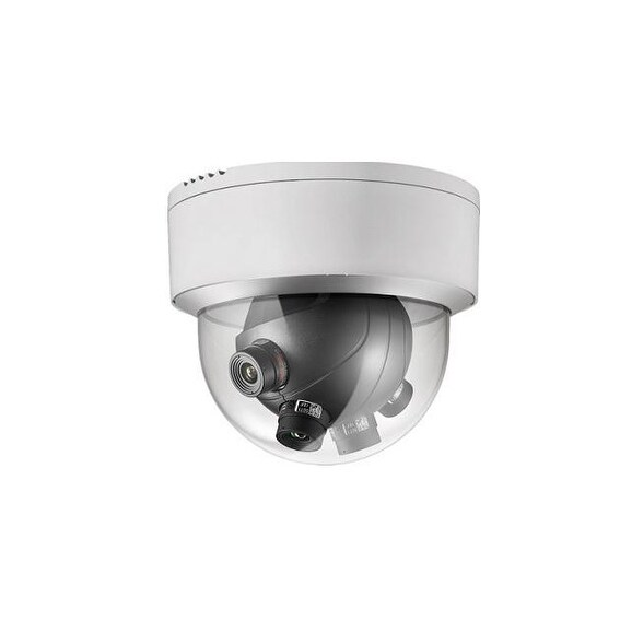Hikvision Ds-2Cd6986f-H (4X2mp Sensors) Multi-Imager Panoramic Dome Camera With Heater And Fan 180°Horizontal View