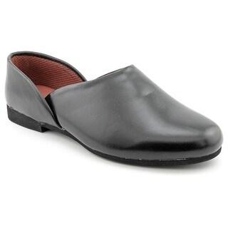 Slippers International Fireside Men 3E Round Toe Leather Slipper