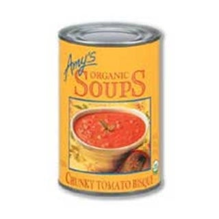 Amys Organic Chunky Tomato Bisque Soup - 14.5 Ounce