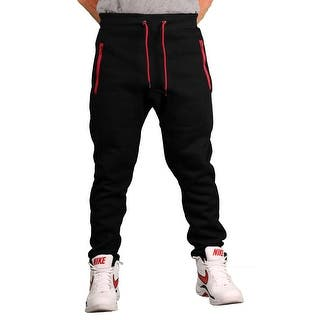 Brooklyn Xpress Men's Fleece Jogger Pant w/Zippered Pockets|https://ak1.ostkcdn.com/images/products/is/images/direct/061d43d6640a87b43112e936f3742239770c4a5c/Brooklyn-Xpress-Men%27s-Fleece-Jogger-Pant-w-Zippered-Pockets.jpg?impolicy=medium