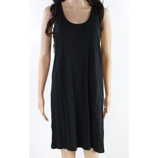 Alternative Black Womens Size XL Racerback Scoop Neck Shift Dress