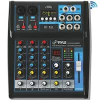 Pyle(R) PMXU43BT 4-Channel Bluetooth(R) Studio Mixer