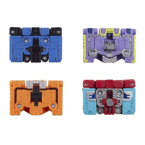 Transformers Micromaster WFC-GS10 Soundwave Spy Patrol (3rd Unit) 4-Pk - 1.5 In