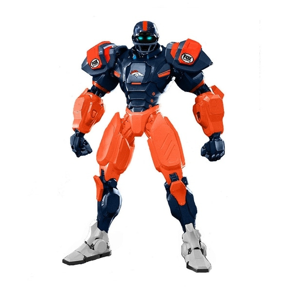 "NFL Denver Broncos 10"" Cleatus Fox Robot Action Figure - multi"