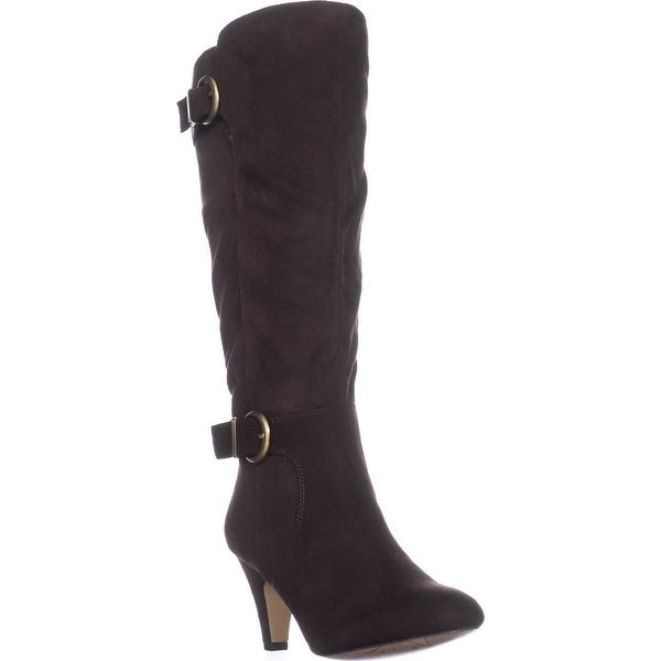 Bella Vita Toni II Wide Calf Knee-High Boots, Brown FB - 7 us