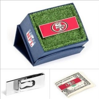 San Francisco 49ers Money Clip - Red