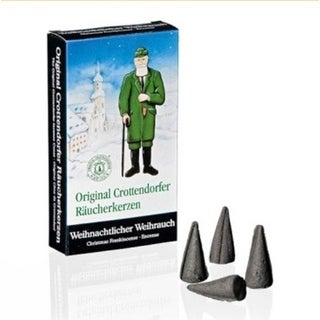 24ct Muller Christmas Smoker Scented Incense Candle Cones - Traditional Encense