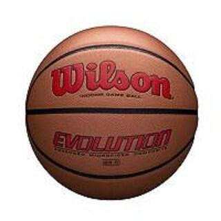 Wilson Evolution Official Size Game Basketball-Scarlet - WTB0595XB0705