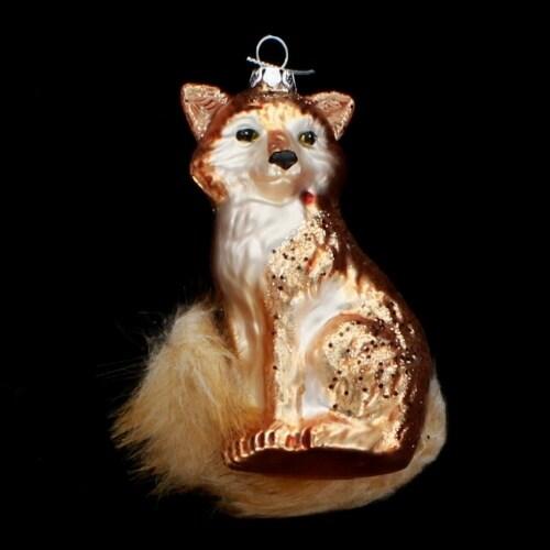 "4"" Glass Fox"