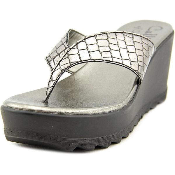 Callisto Jamaica Open Toe Synthetic Sandals