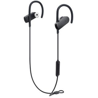 AudioTechnica ATH-SPORT70BT SonicSport Wireless In-Ear Headphones with In-Line Mic and Remote