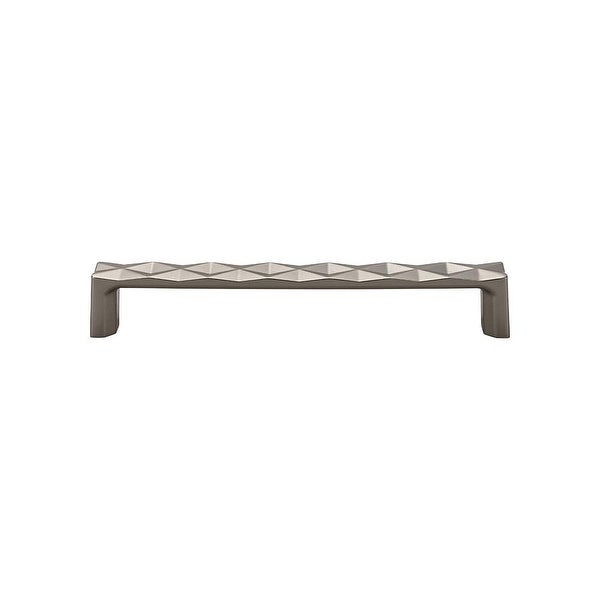 """Top Knobs TK563 Quilted 6-5/16"""" Center to Center Handle Cabinet Pull from the Mercer Series"""